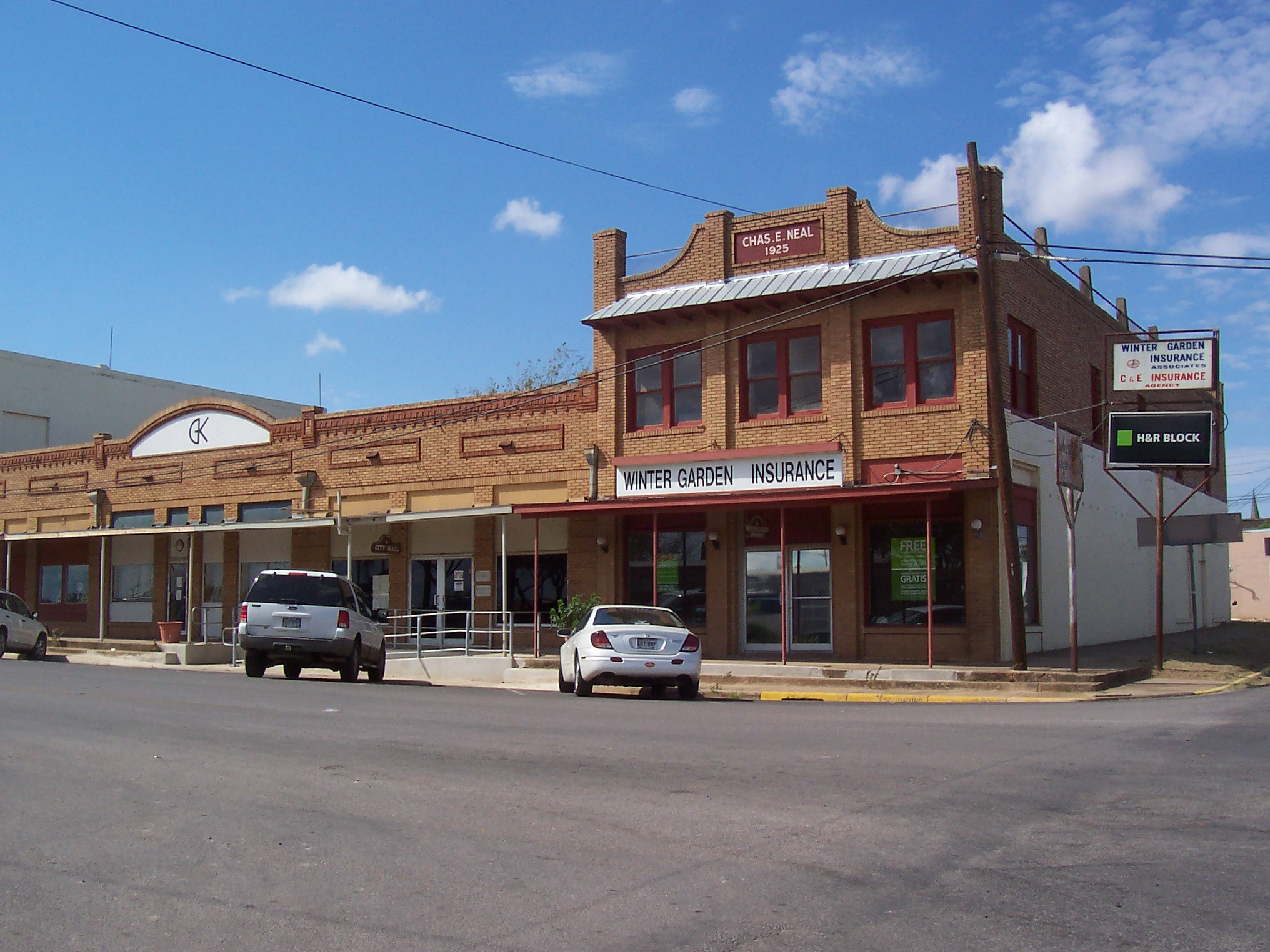 Small towns, like Cotulla, TX, were overrun by oil and gas workers during the heyday of Eagle Ford. Today, these towns have returned to their usual slow pace. Photo credit Cotulla Chamber.